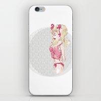 Blondy Girl iPhone & iPod Skin