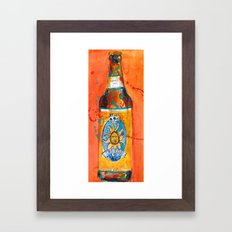 BEER ART - Oberon Ale Framed Art Print