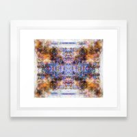 .peak. Framed Art Print
