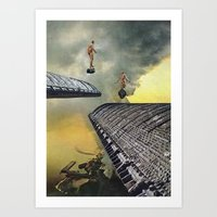 Fires Of Freedom Art Print