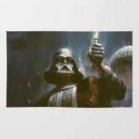 Darth Vader Vintage Rug