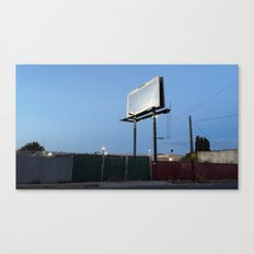 wordless sign Canvas Print
