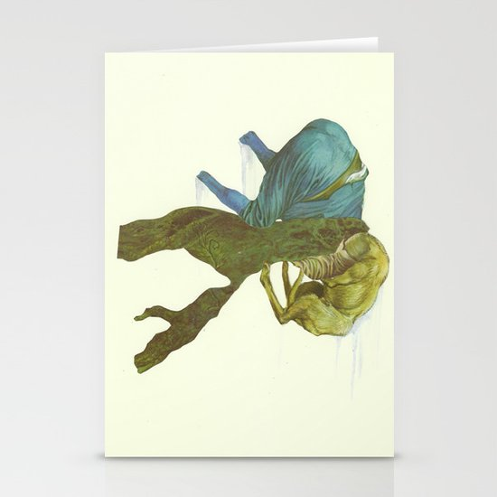 Grendel Stationery Card