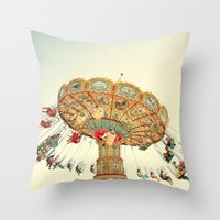 Let Go Throw Pillow