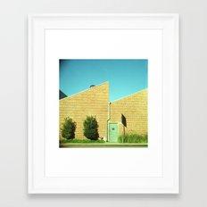 Culver City, California. February 10, 2011. Framed Art Print