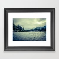 Hoh Rainforest Framed Art Print