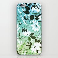 Vintage Flowers XL - for iphone iPhone & iPod Skin