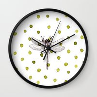 Nature Is Home Wall Clock