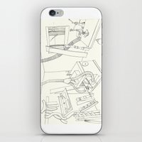 la mueblería de sigfredo iPhone & iPod Skin