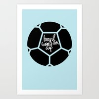 Brazil World Cup 2014 - Poster n°5 Art Print