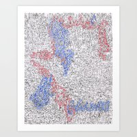 Schematics of a Doomsday Device 4 Art Print