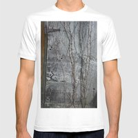 Vine and Hinge Mens Fitted Tee White SMALL