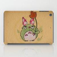 A Kockas Fulu Nyultoro iPad Case
