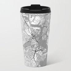 Boston Map Line Travel Mug