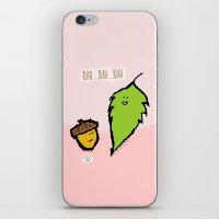 Blah Blah Blah iPhone & iPod Skin