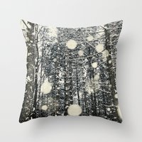 Into The Woods Again Throw Pillow