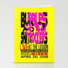 Bubbles And The Shitrock… Stationery Cards