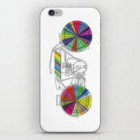 Rainbow Cycle iPhone & iPod Skin