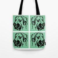 Dog 1 Tote Bag