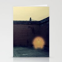 Lonely with Bricks Stationery Cards