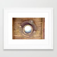 Old School Camera Framed Art Print