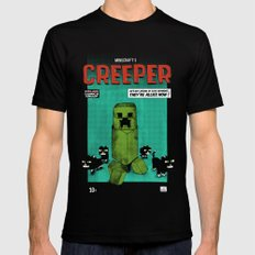 Creeper Mens Fitted Tee Black SMALL