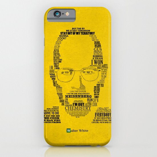 Breaking Bad:  Walter White iPhone & iPod Case