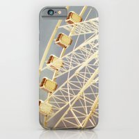 iPhone & iPod Case featuring Ferris Wheel by The Last Sparrow