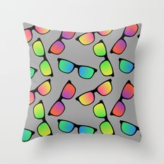 Sunglasses Pattern Throw Pillow