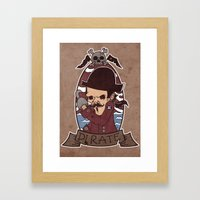 Pirate Framed Art Print