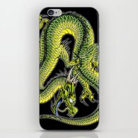 japanese dragon 9 iPhone & iPod Skin