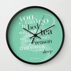 Little Things - One Direction (2) Wall Clock