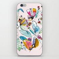 Flowers in the Wind iPhone & iPod Skin
