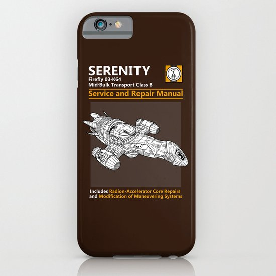 Serenity Service and Repair Manual iPhone & iPod Case