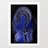 Saint Hildegard von Bingen Art Print