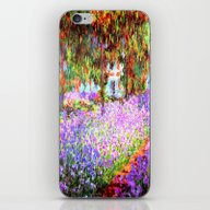 Monets Garden In Giverny iPhone & iPod Skin
