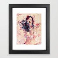 Angel Face Framed Art Print