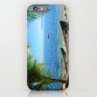 Boats At Las Caletas iPhone 6 Slim Case