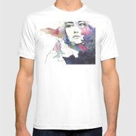 Forgotten  Mens Fitted Tee White SMALL