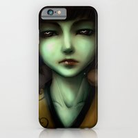 Green skin girl iPhone 6 Slim Case