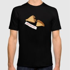 FORTUNE SMALL Black Mens Fitted Tee