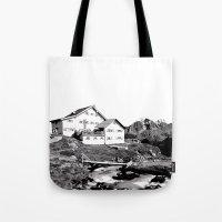 Neue Regensburger Hütte Tote Bag