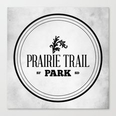 Prairie Trail Park Canvas Print