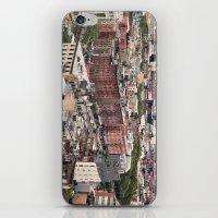 Lower East Side Skyline #2 iPhone & iPod Skin