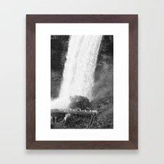 Niagara Falls III Framed Art Print