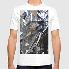 PLIURES White Mens Fitted Tee SMALL
