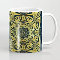 Golden Geometry Mug
