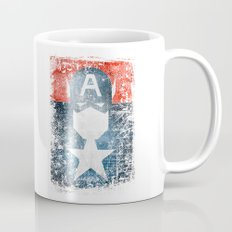 Yankee Captain grunge superhero Mug