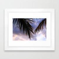 tropical.  Framed Art Print