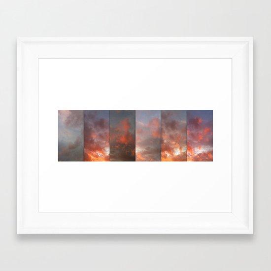Seconds Framed Art Print